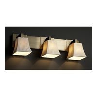 Justice Design POR 8923 40 WFAL ABRS Limoges 3 Light 27 Inch