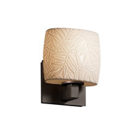 Justice Design Limoges Modular 1-Light Wall Sconce (Ada) in Dark Bronze POR-8931-30-BMBO-DBRZ