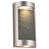 Justice Design SLT-7535W-NTRL-NCKL Slate LED 8 inch Brushed Nickel ADA Wall Sconce Wall Light in Natural thumb