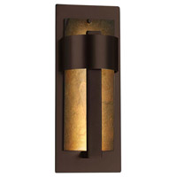 Justice Design SLT-7642W-NTRL-MBLK Slate Litho LED 15 inch Matte Black Outdoor Wall Sconce