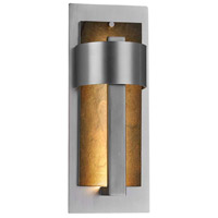 Justice Design SLT-7642W-ERTH-NCKL Slate Litho LED 15 inch Brushed Nickel Outdoor Wall Sconce