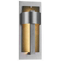 Justice Design SLT-7642W-NTRL-NCKL Slate Litho LED 15 inch Brushed Nickel Outdoor Wall Sconce