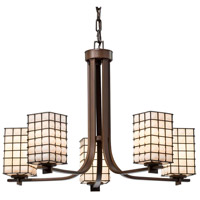 Brushed Nickel Metal Glass Chandeliers