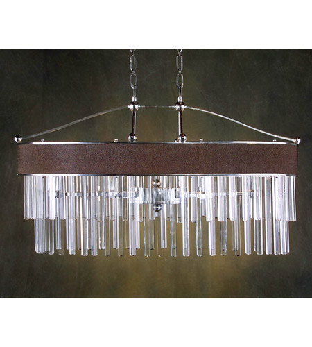 John Richard Paris Coutoure 6 Light Chandelier in Plated AJC-8397 photo