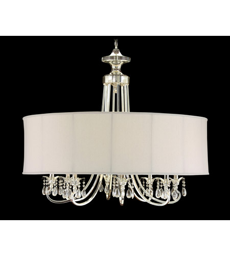 Lombard 8 Light 40 inch Plated Chandelier Ceiling Light