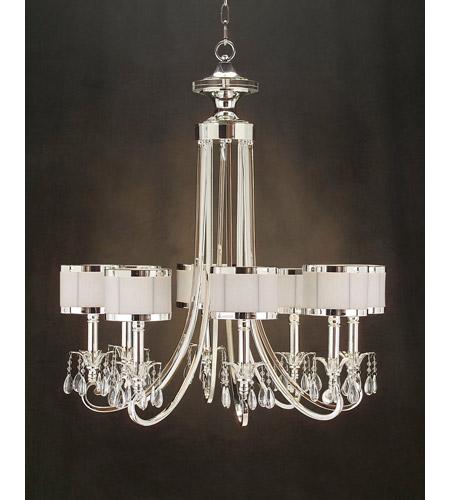 lombard 8 light 31 inch plated chandelier ceiling light. Black Bedroom Furniture Sets. Home Design Ideas