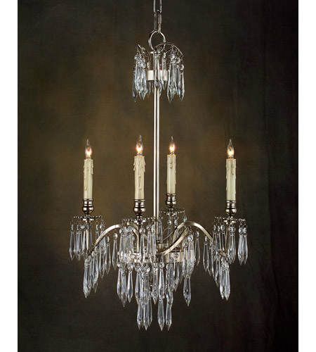 John Richard Alexander John 4 Light Chandelier in Plated AJC-8529 photo
