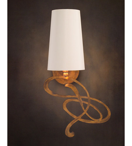 John Richard Sausalito 1 Light Wall Sconce in Hand-Painted AJC-8716 photo