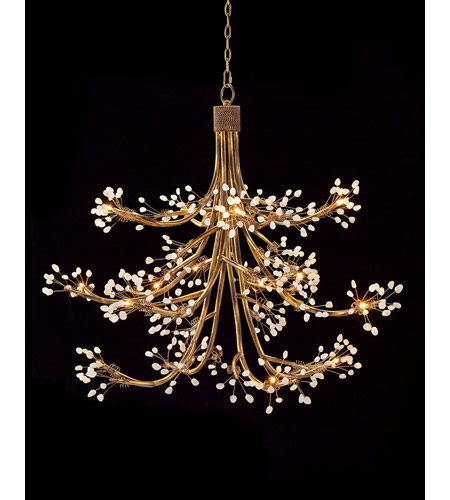 John Richard AJC-8772 Signature 14 Light 50 inch Antique Gold Chandelier  Ceiling Light - John Richard AJC-8772 Signature 14 Light 50 Inch Antique Gold