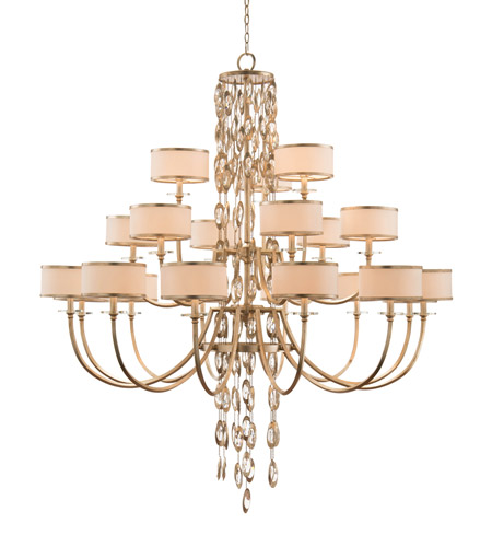 John Richard AJC8856 Counterpoint 21 Light 58 inch Champagne and