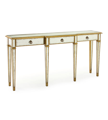 John Richard EUR-02-0050 John Richard Furniture 70 X 15 inch Eglomise Console Table Home Decor photo