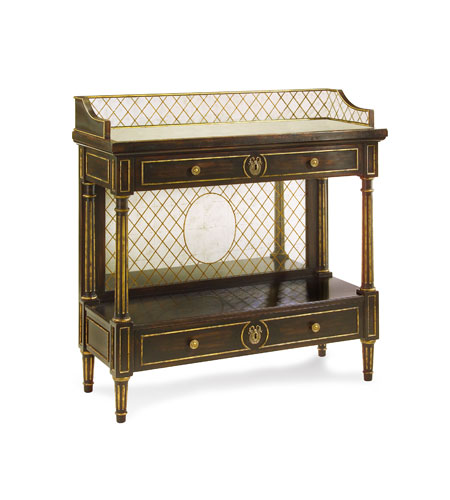 John Richard EUR-02-0102 John Richard Furniture 42 X 16 inch Hand-Painted Console Table Home Decor photo