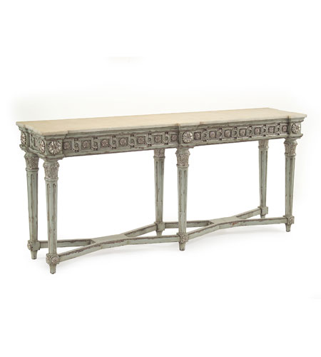John Richard John Richard Furniture Console Table in Hand Painted EUR-02-0152 photo