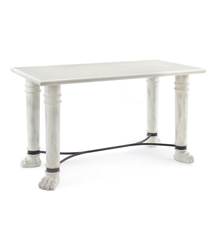 John Richard EUR-02-0155 Florence De Dampierre Furniture 56 inch Hand Painted Table Home Decor photo