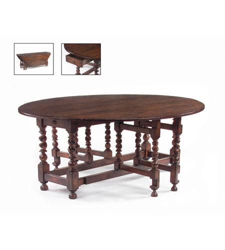 John Richard John Richard Furniture Dining Table in Medium Wood EUR-03-0123 photo