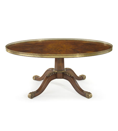 John Richard John Richard Furniture Cocktail Table in Medium Wood EUR-03-0201 photo