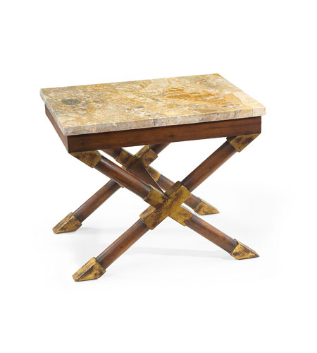 John Richard John Richard Furniture Side Table in Medium Wood EUR-03-0228 photo