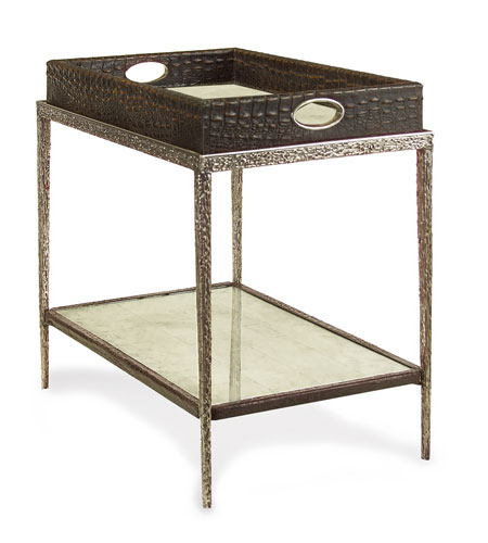 John Richard Crocodile and Mirror Cocktail Table in Eglomise EUR-03-0285 photo