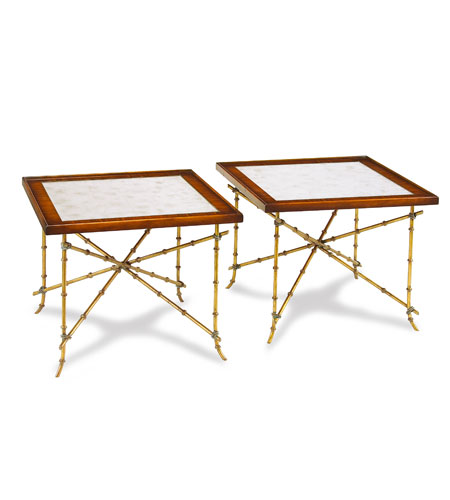 John Richard John Richard Furniture Cocktail Table in Eglomise EUR-03-0294 photo