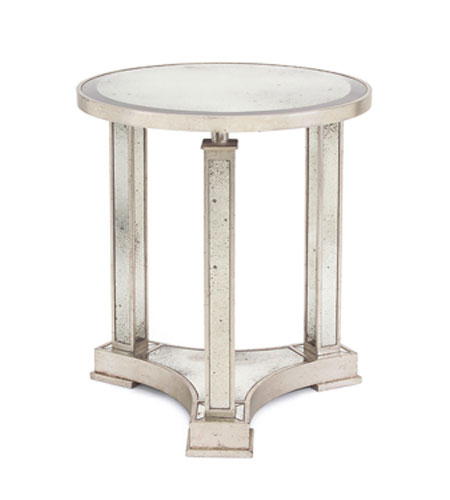 John Richard John Richard Furniture Side Table in Antiqued