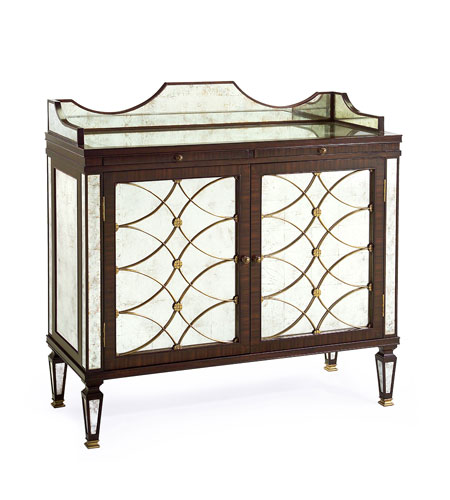 John Richard EUR-04-0048 John Richard Furniture Eglomise Cabinet photo