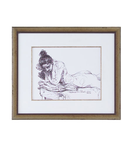 John Richard Figurative Wall Decor Giclees in Bronze GBG-0552 photo