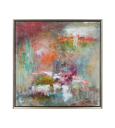 John Richard Gbg 0566 New Birth Blues And Orange Wall Art