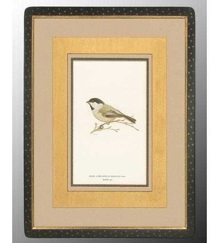 John Richard Animal Wall Art - Print in Black and Gold  GRF-4082B photo