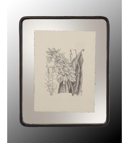John Richard Botanical/Floral Wall Decor Open Edition Art in Black and Cream GRF-4400C photo