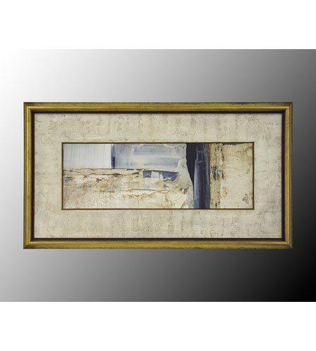 John Richard Coastal Wall Art - Print in Gold Bevel  GRF-4771B photo