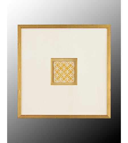 John Richard GRF-4988G Abstract Gold Wall Art photo