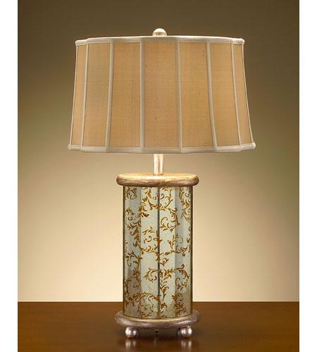 John Richard Portable 1 Light Table Lamp in Hand-Painted JRL-7341 photo