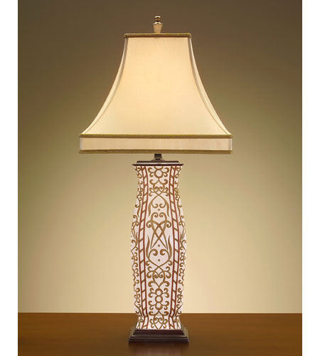 John Richard John Richard Table Lamp in French Beige  JRL-7396 photo