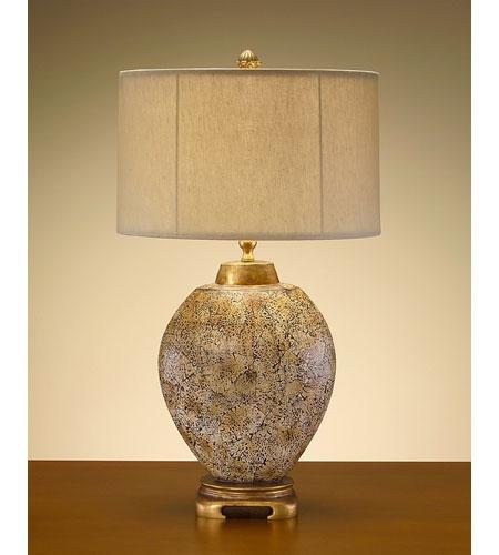 John Richard Portable 1 Light Table Lamp in Hand-Finished JRL-7442 photo