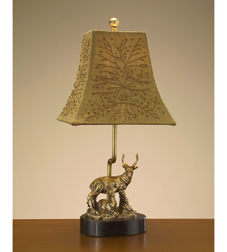 John Richard Portable 1 Light Accent Lamp in Bronze JRL-7745 photo