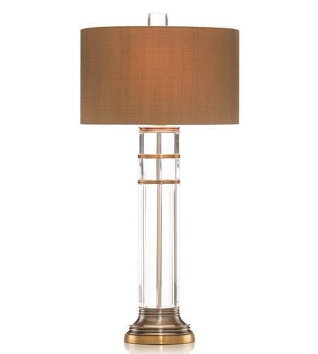 John Richard JRL-8013 Crystal 34 inch 60 watt Table Lamp Portable Light photo