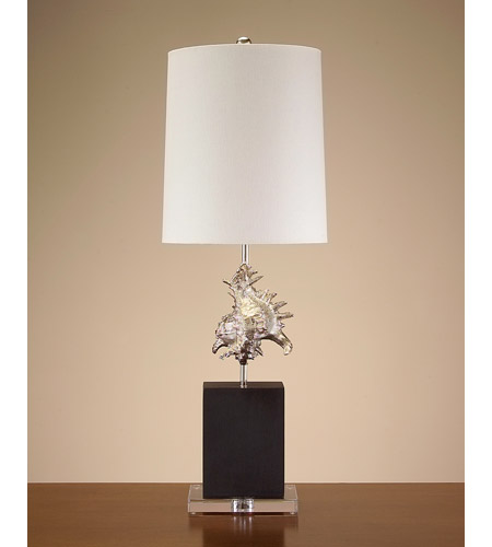 John Richard Portable 1 Light Table Lamp in Off White JRL-8262 photo