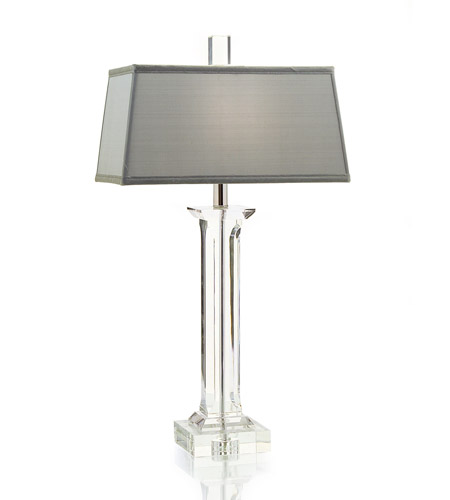 John Richard JRL-8345 Crystal 29 inch 60 watt Table Lamp Portable Light photo