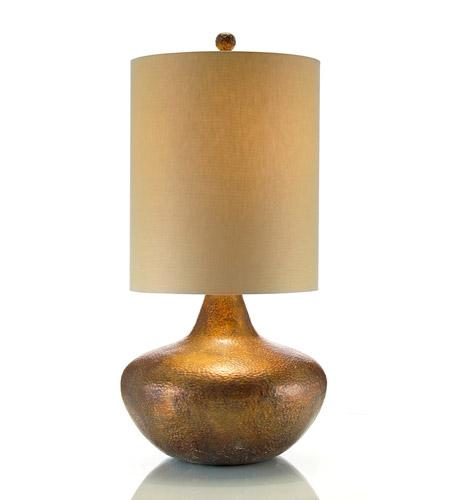 John Richard Portable 1 Light Table Lamp in Brass JRL-8385 photo
