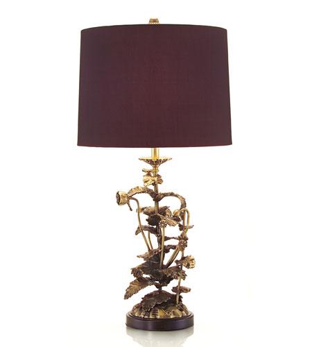 John Richard Portable 1 Light Table Lamp in Brass JRL-8400 photo
