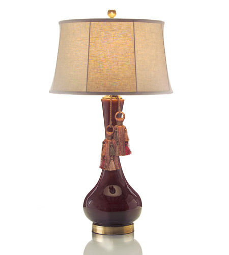 Elk Lighting Bordeaux: Portable 36 Inch 150 Watt Beige Table Lamp Portable Light