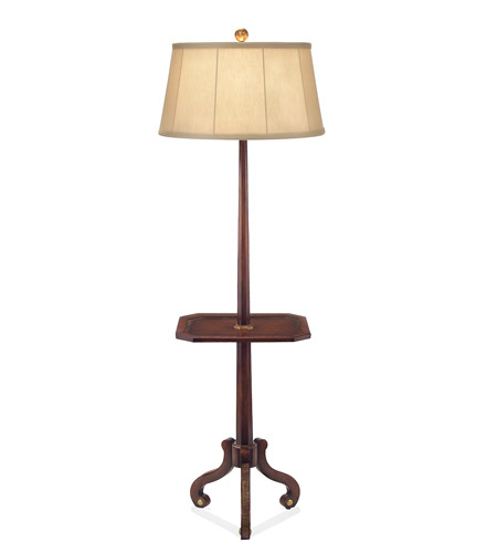 John Richard Portable 1 Light Floor Lamp in Brass JRL-8477 photo