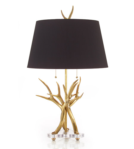 John Richard Portable 1 Light Table Lamp in Black JRL-8590 photo