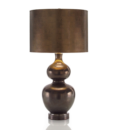 John Richard Portable 1 Light Table Lamp in Bronze JRL-8626 photo