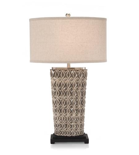 John Richard JRL 8978 Geometric 30 Inch 150 Watt Table Lamp Portable Light