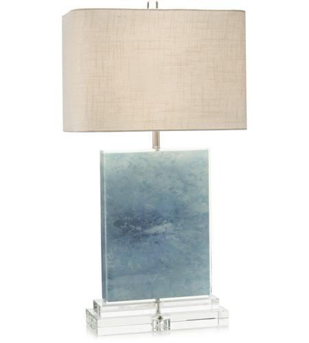 John Richard Jrl 9207 Ocean 31 Inch 150 Watt Blue And Clear Acrylic