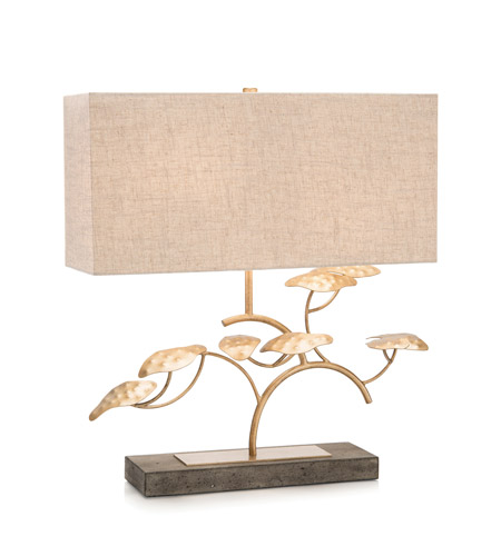Gold Steel Signature Table Lamps