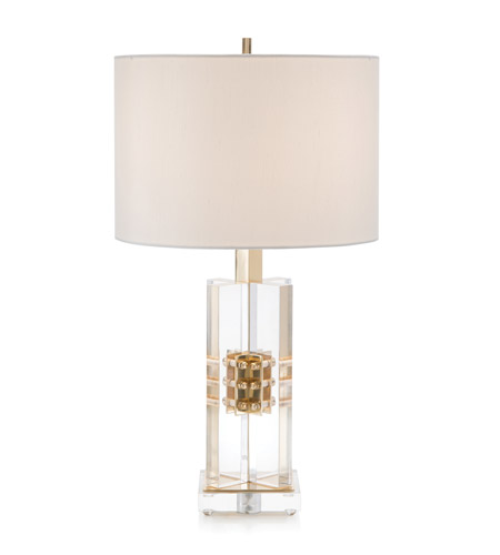 John richard lighting Couture John Richard Jrl9696 Lighting New York John Richard Jrl9696 Signature 24 Inch 150 Watt Brass And Clear