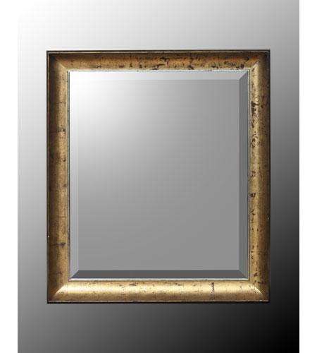 John Richard Rectangle Mirror in Gilded Gold  JRM-0291 photo
