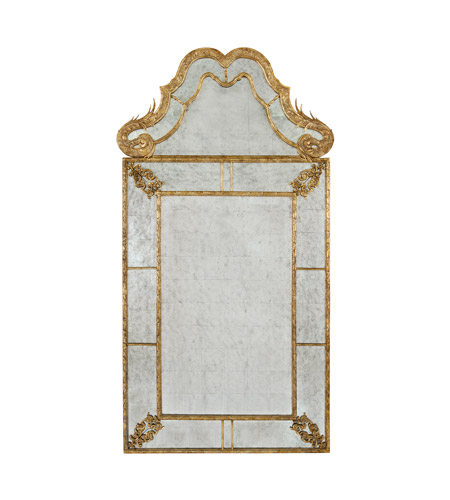 John Richard JRM-0324 Diverse Profiles/Shapes 69 X 37 inch Gilded Gold Mirror Home Decor photo